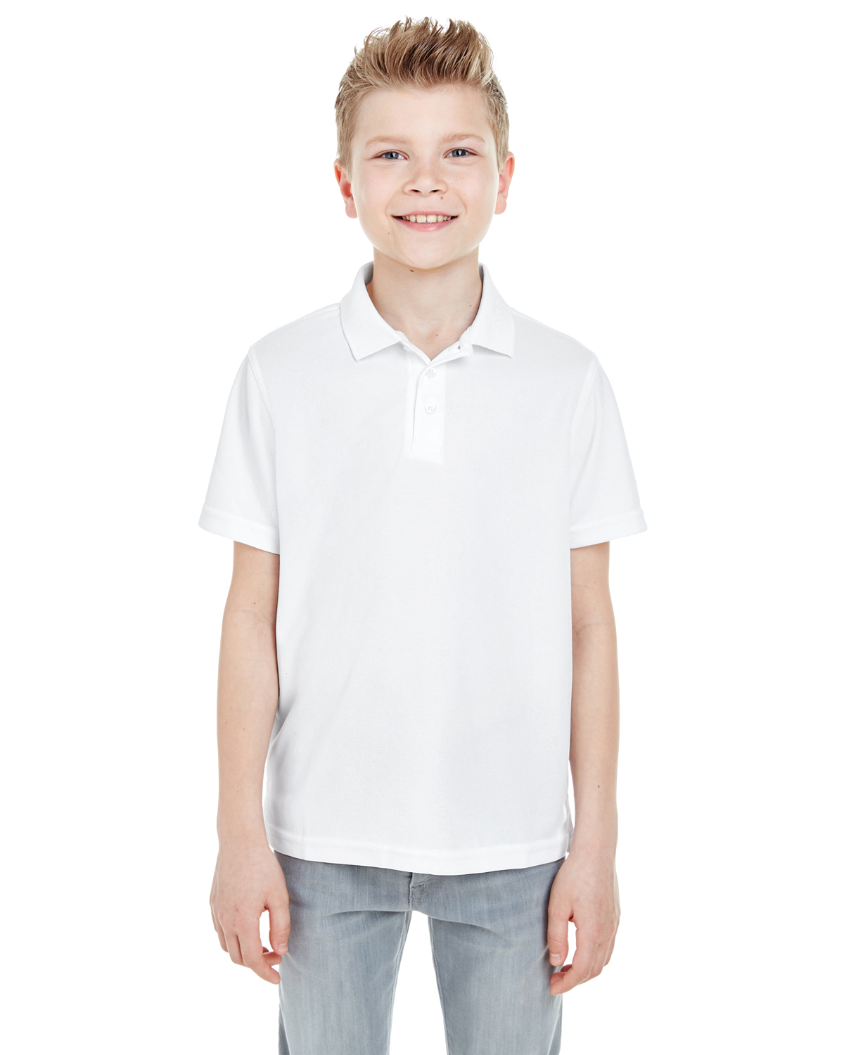 Ultra Club 8210Y - Youth Cool & Dry Mesh Pique Polo