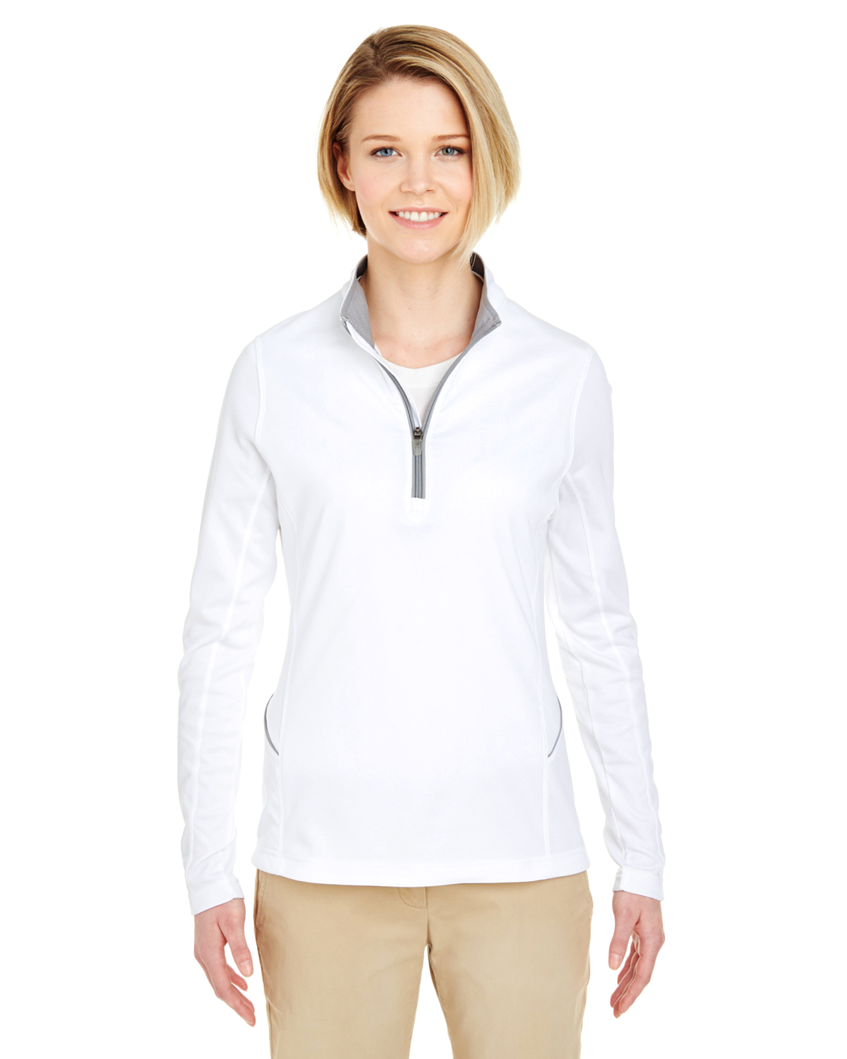 Ultra Club 8230L - Ladies' Cool & Dry Sport Quarter ...