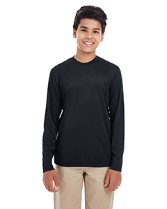 Ultra Club 8622Y - Youth Cool & Dry Performance Long-Sleeve Top