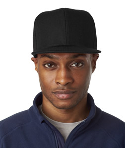 UltraClub 8160 - Flat Bill Cap