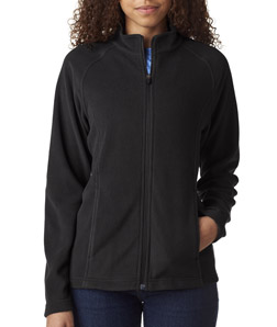 UltraClub 8181 - Ladies' Cool Dry Full Zip Micro Fleece