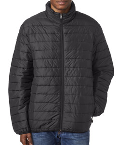UltraClub 8469 - Adult Quilted Puffy Jacket