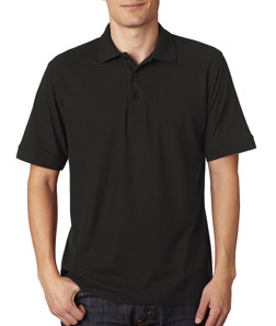 UltraClub 8560 - Men's Basic Blended Piqu Polo