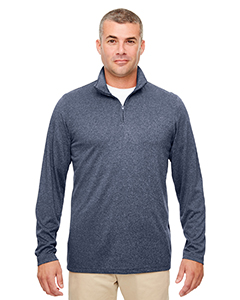 UltraClub 8618 - Men's Cool & Dry Heathered Performance Quarter-Zip
