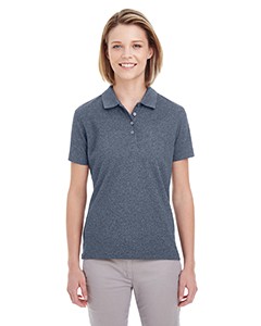 UltraClub UC100W - Ladies' Heathered Pique Polo
