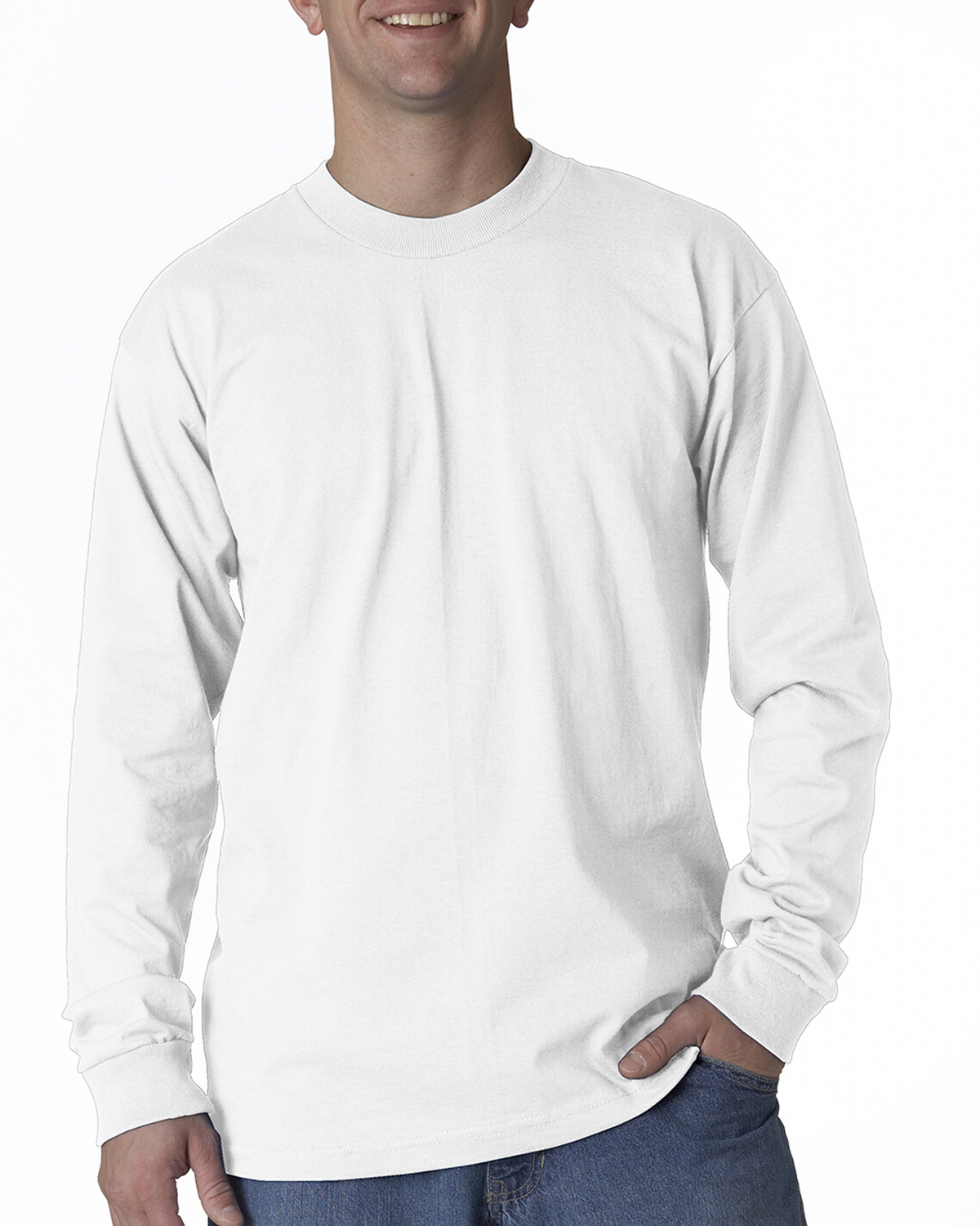 Union Made BA2955 - Adult Long-Sleeve Tee