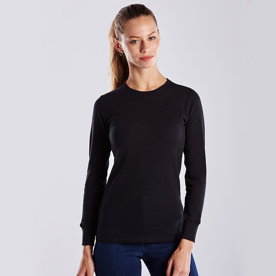 US Blanks US199 - Women's Long Sleeve Thermal