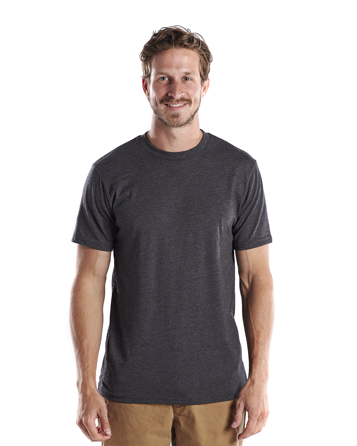 US Blanks US2000R - Men's Short-Sleeve Recycled Crew ...