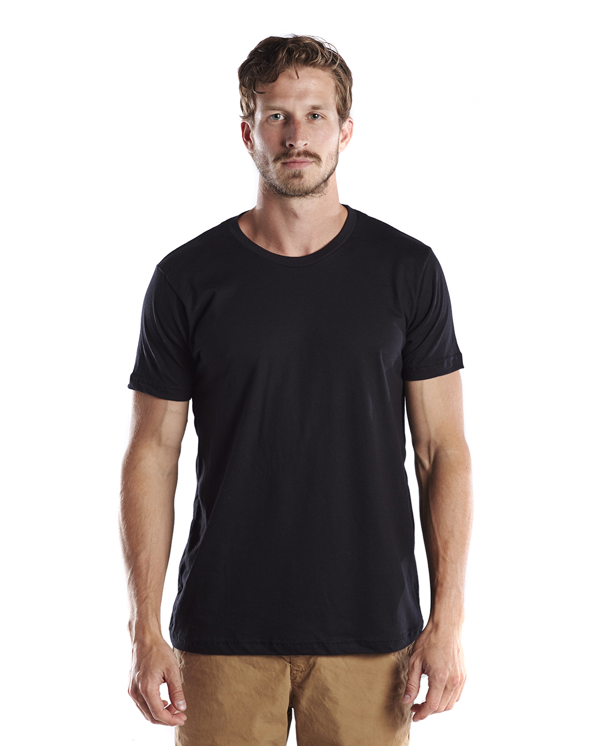 US Blanks US200OR - Men's Short-Sleeve Organic Crewneck ...