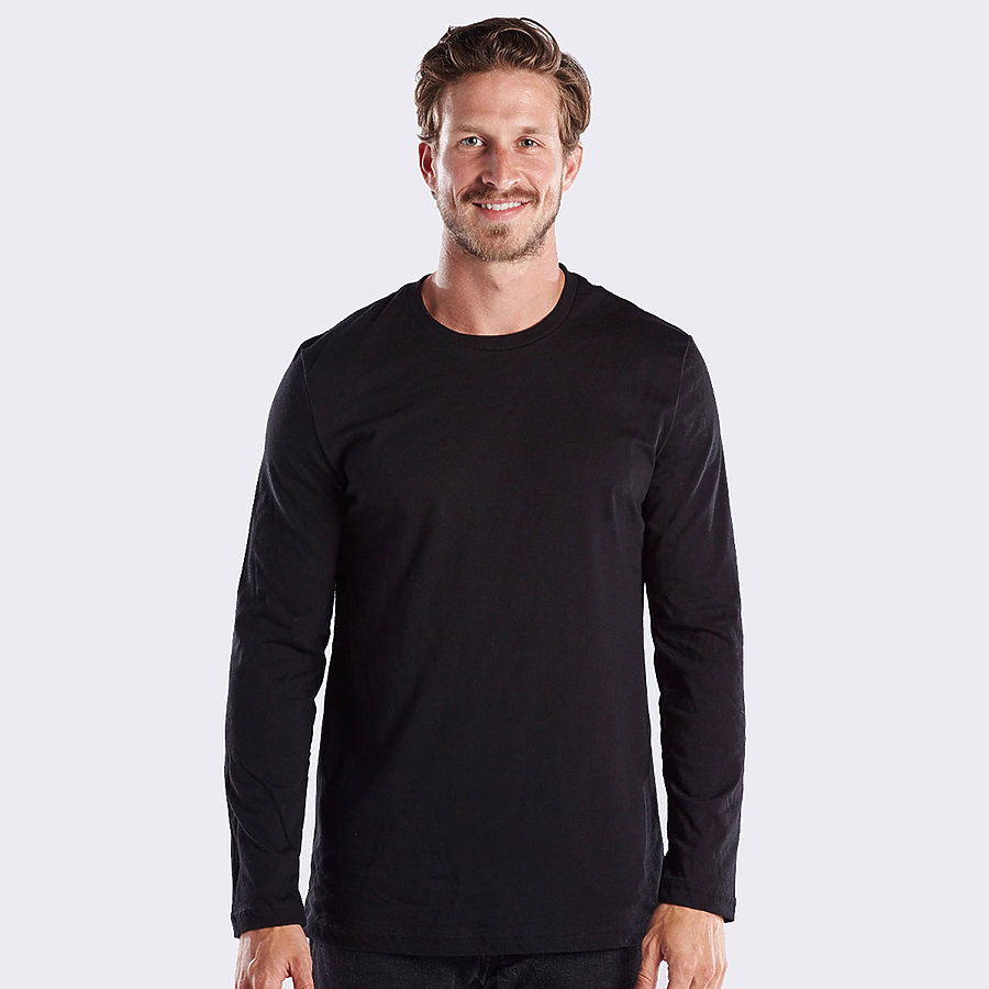 US Blanks US2090 - Men's Long Sleeve Crew Neck