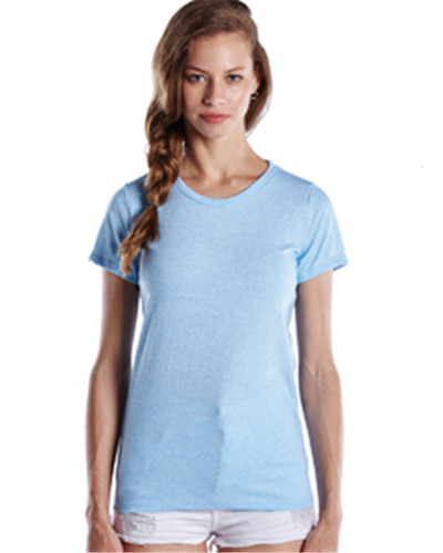 US Blanks US222 - Ladies' Short-Sleeve Triblend Crew