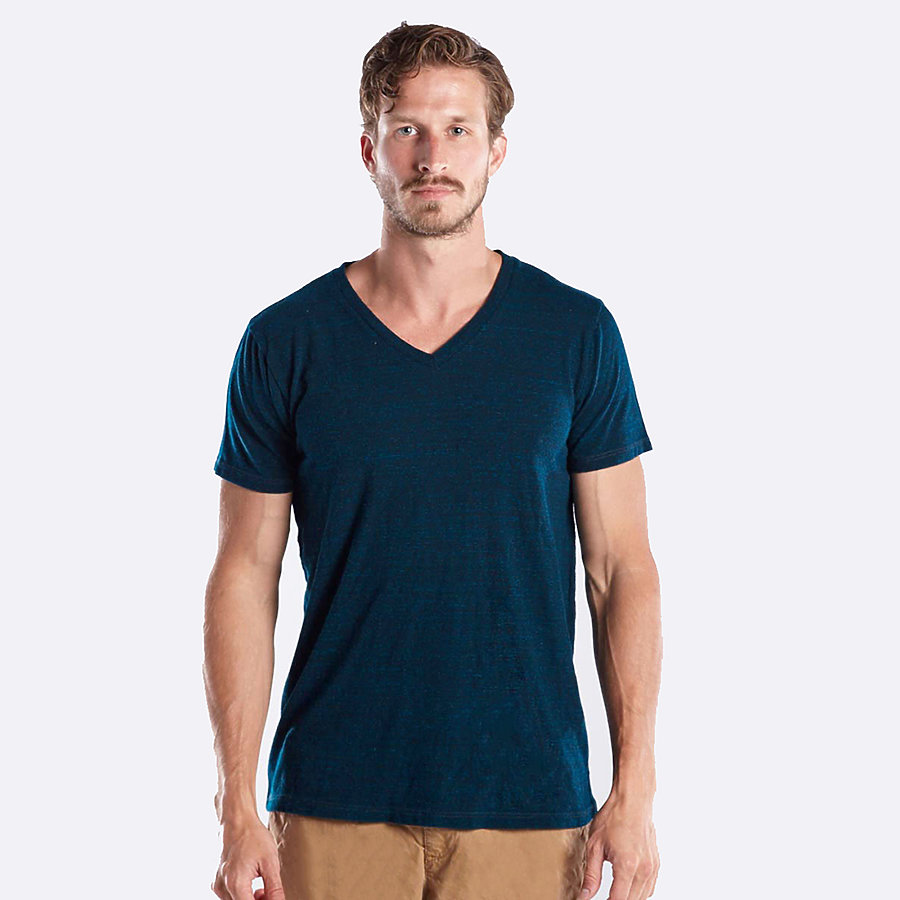 US Blanks US2228 - Men's Short Sleeve Tri-Blend V-Neck