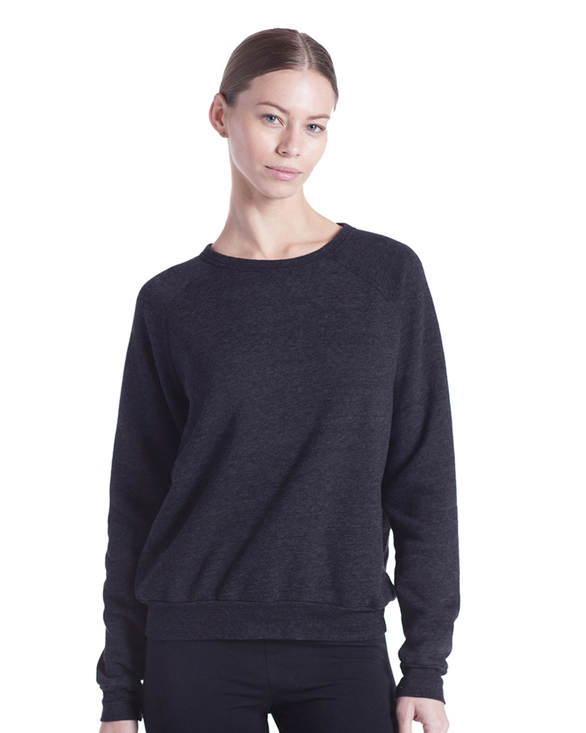 US Blanks US238 - Ladies' Raglan Pullover Long Sleeve ...