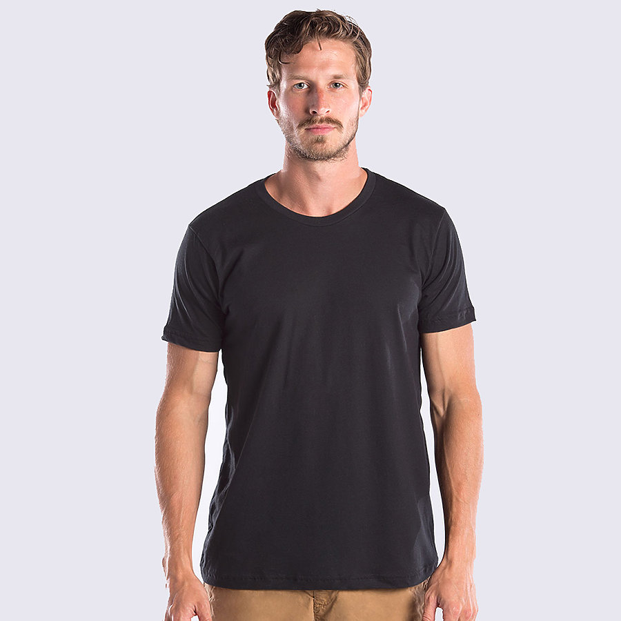 US Blanks US2400 - Men's 40/1 Jersey Short Sleeve Crew ...