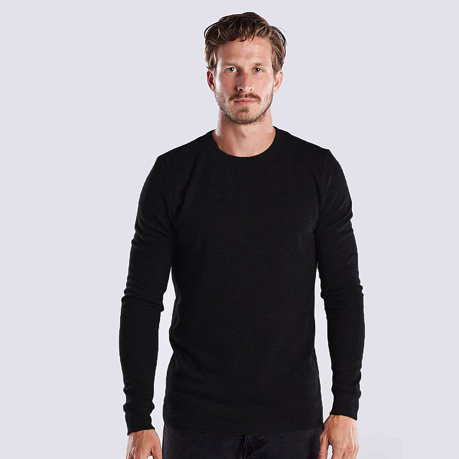 US Blanks US2900 - Men's Long Sleeve Thermal Crew Neck