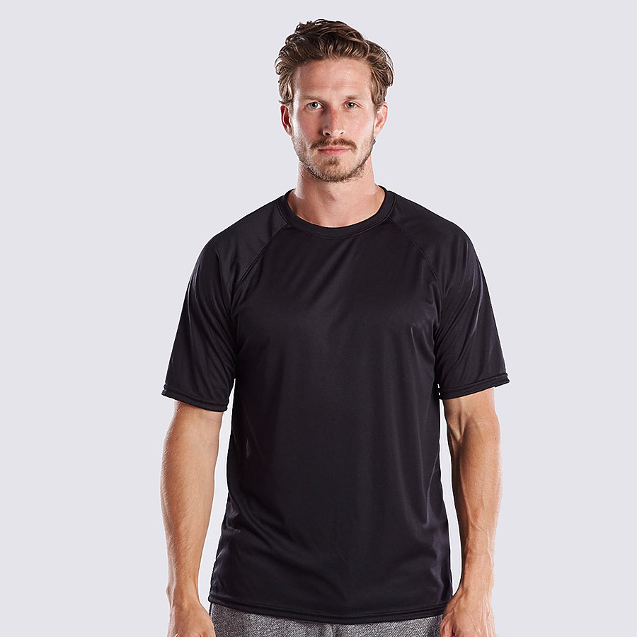 US Blanks US2999 - Men's Short Sleeve Raglan Performance ...