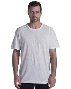 US Blanks US3200 - Men's Short-Sleeve Slub Crewneck T-Shirt Garment-Dyed