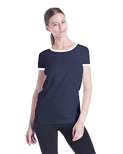 US Blanks US609 - Ladies' Classic Ringer T-Shirt