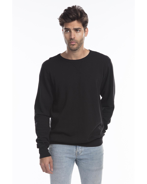 US Blanks US8000G - Men's Garment-Dyed Heavy French Terry Crewneck Sweatshirt