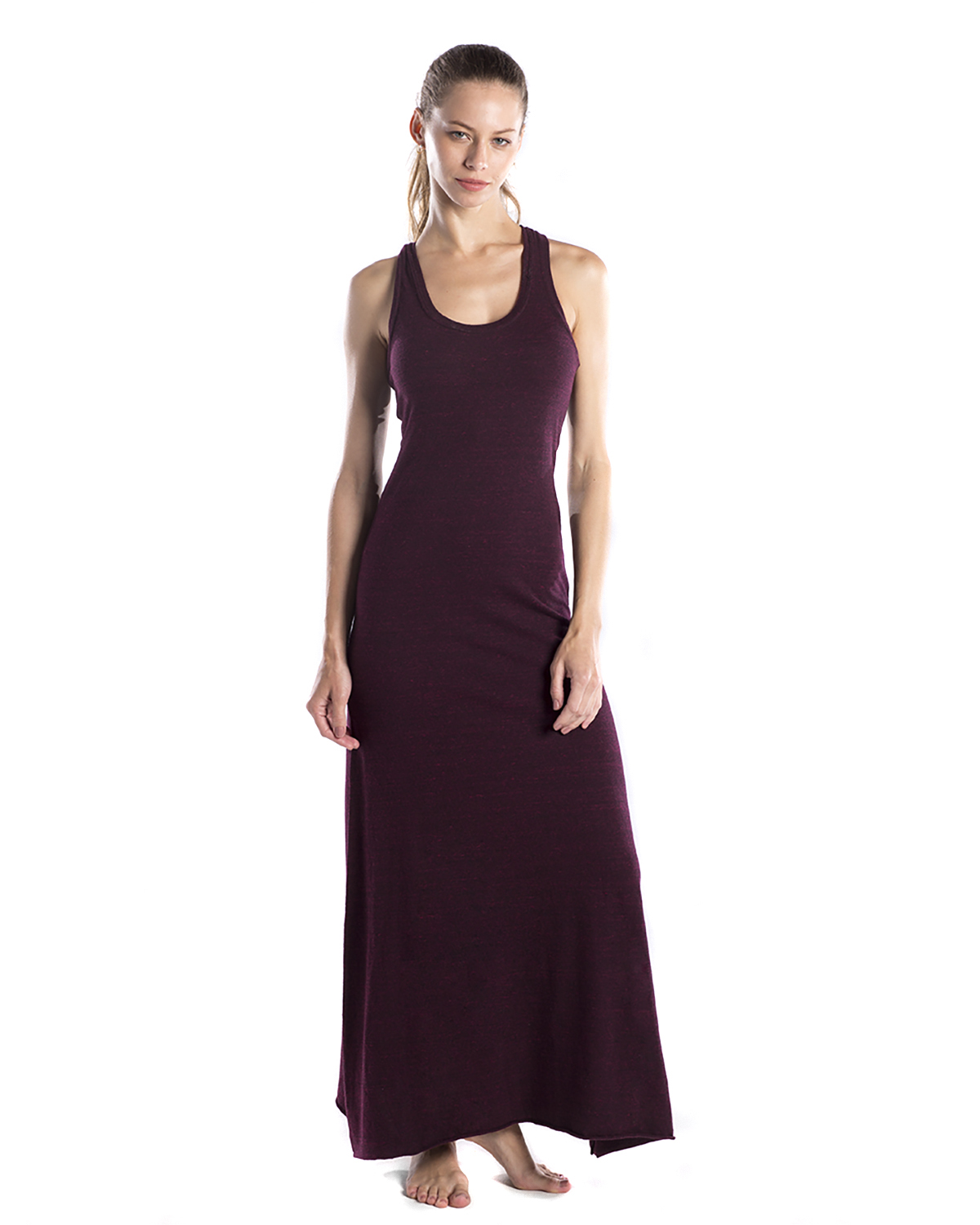 US Blanks US976OD - Ladies' 5.2 oz. Triblend Racerback Over-Dyed Dress