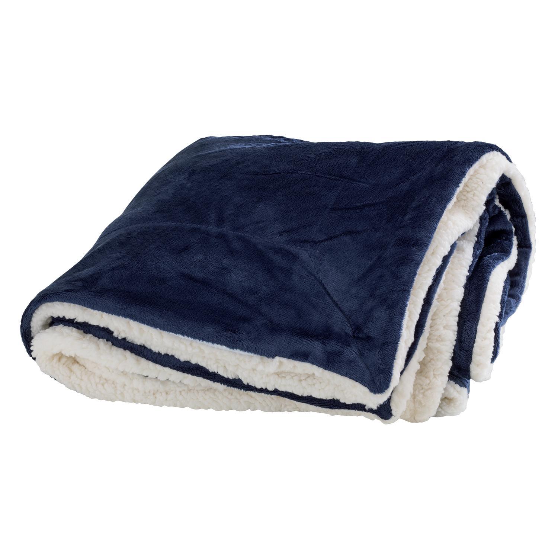 Vantage 0640 - Faux Mink Sherpa Blanket