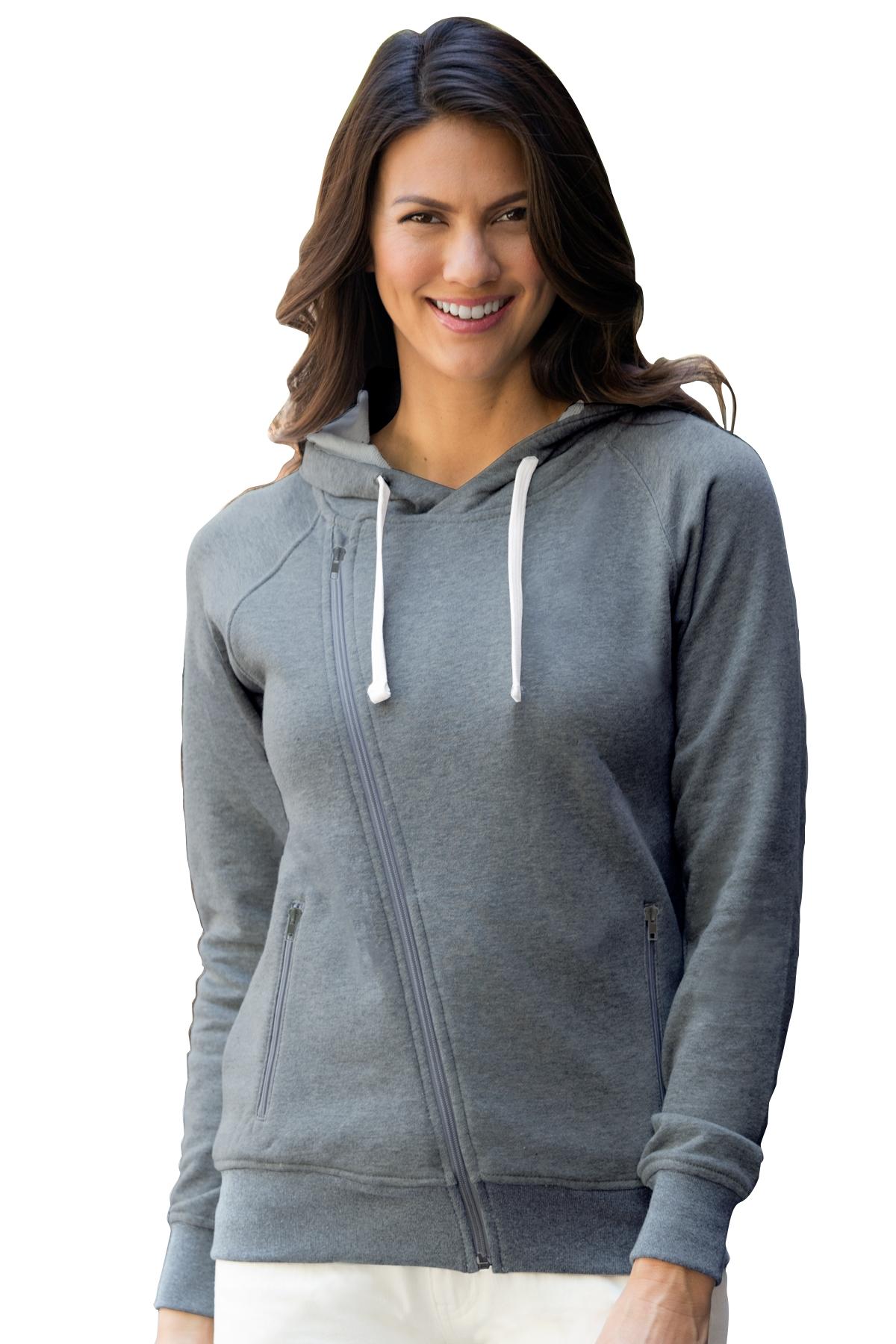 Vantage 3298 - Women's Fleece Moto Jacket