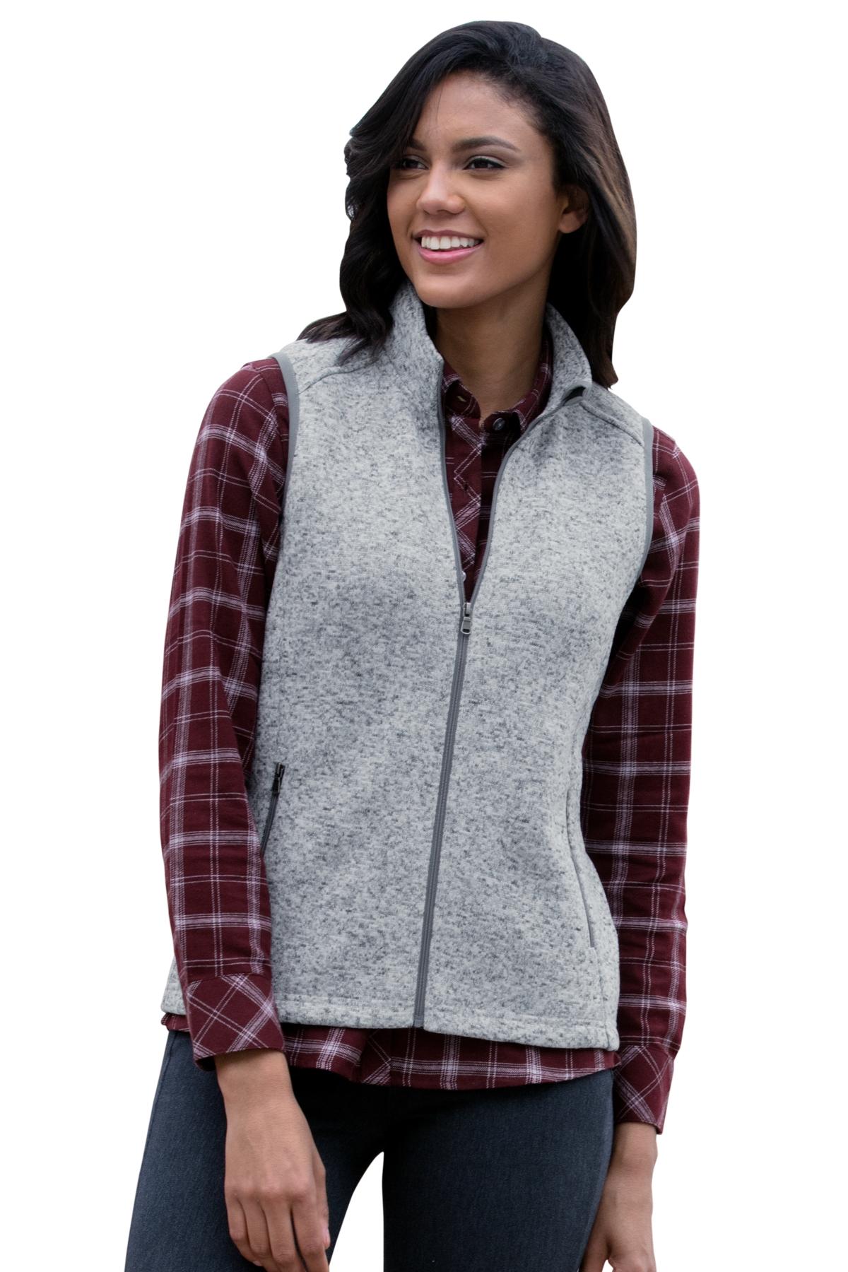Vantage 3308 - Women's Summit Sweater-Fleece Vest