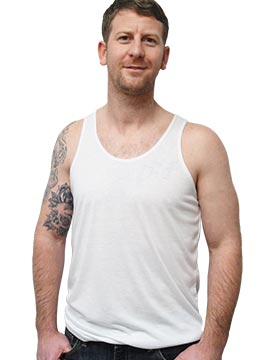 Vapor Apparel T100 - Men's White Tank Top