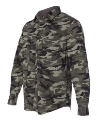 Weatherproof 154622 - Vintage Camo Long Sleeve Shirt
