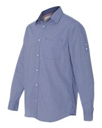 Weatherproof 154670 - Vintage Mini Check Long Sleeve ...