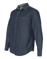 Weatherproof 154695 - Vintage Denim Long Sleeve Shirt