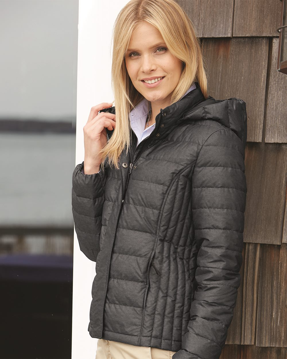 Weatherproof 17602W - 32 Degrees Women's Hooded Packable Down Jacket