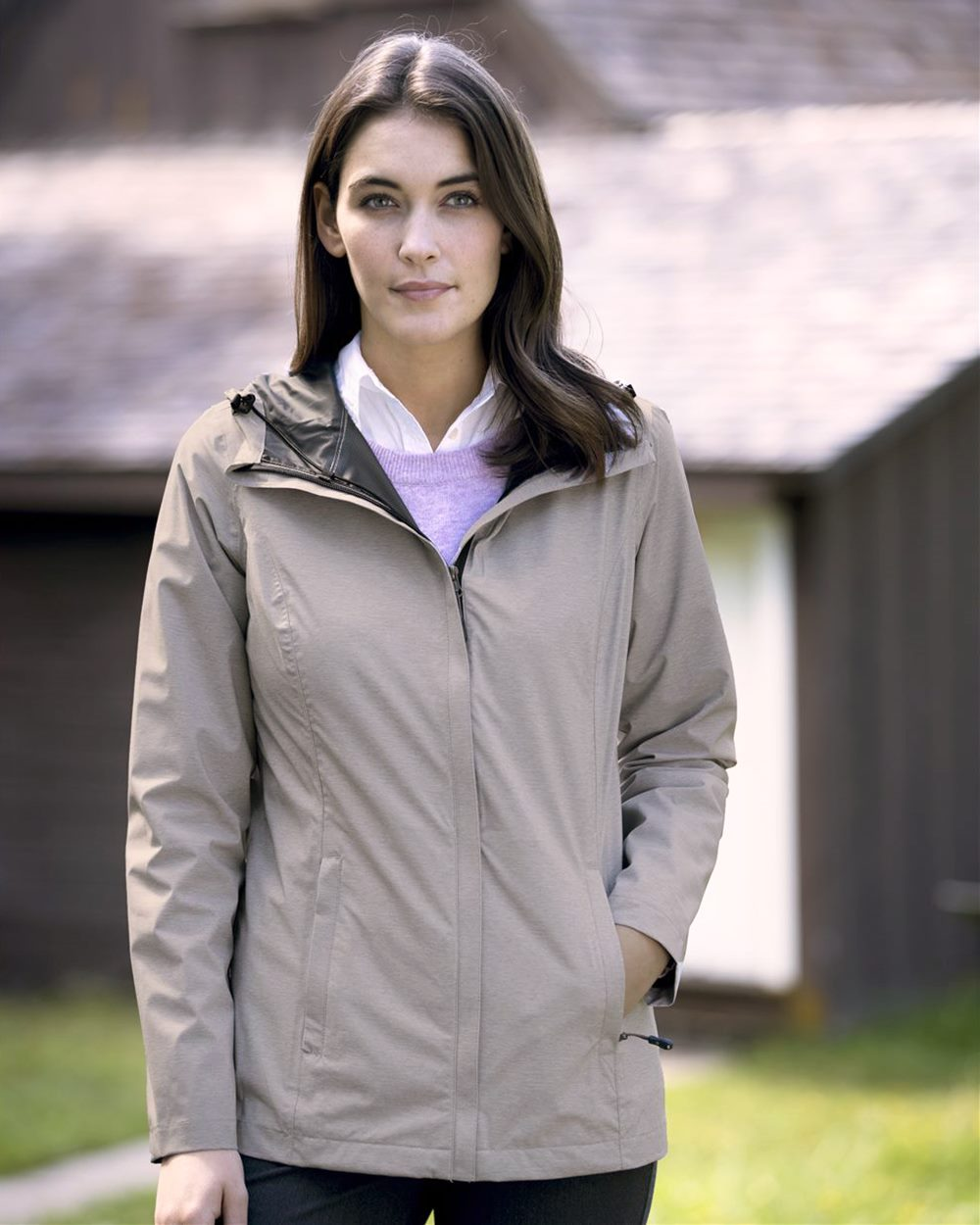 Weatherproof 17604W - 32 Degrees Women's Melange Rain ...