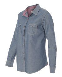 Weatherproof W154885 - Vintage Womens Chambray Long ...