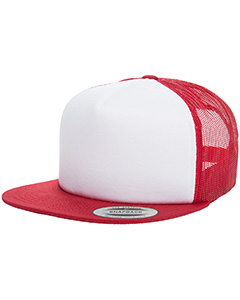 Yupoong 6005FW - Drop Ship Foam Trucker with White Front ...
