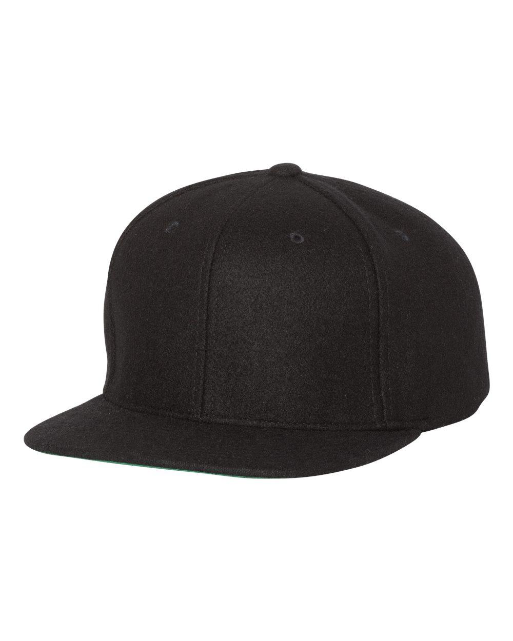 Yupoong 6689 - Melton Wool Snapback Cap