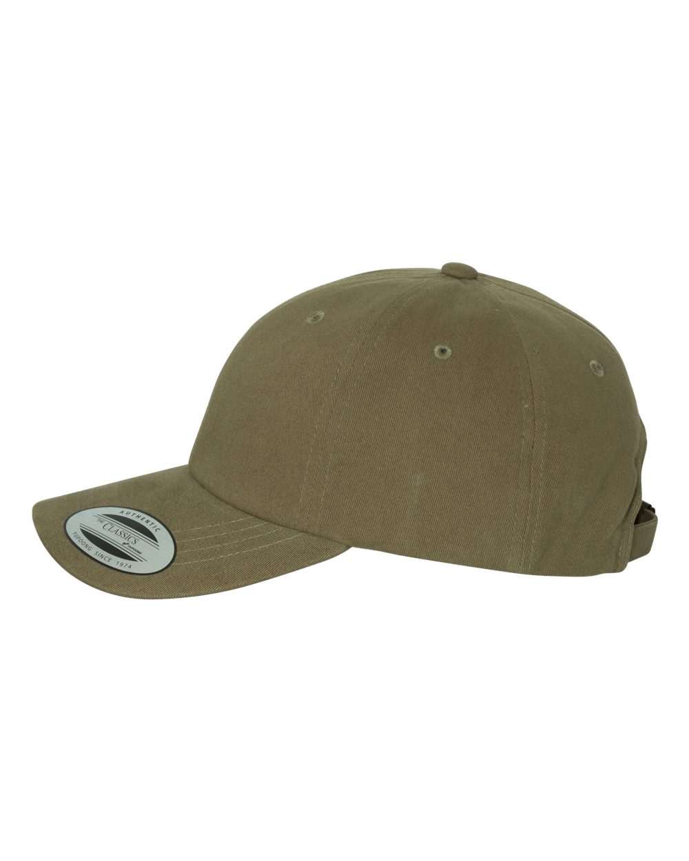 Yupoong 6245PT - Peached Cotton Twill Dad Cap