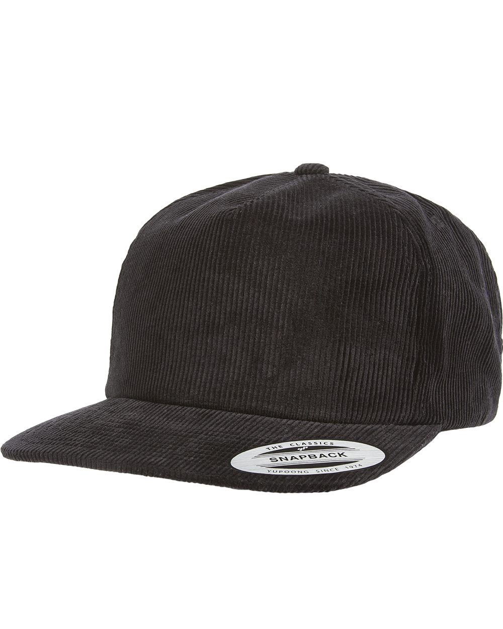 Yupoong 6508 - Premium Corduroy Snapback Cap