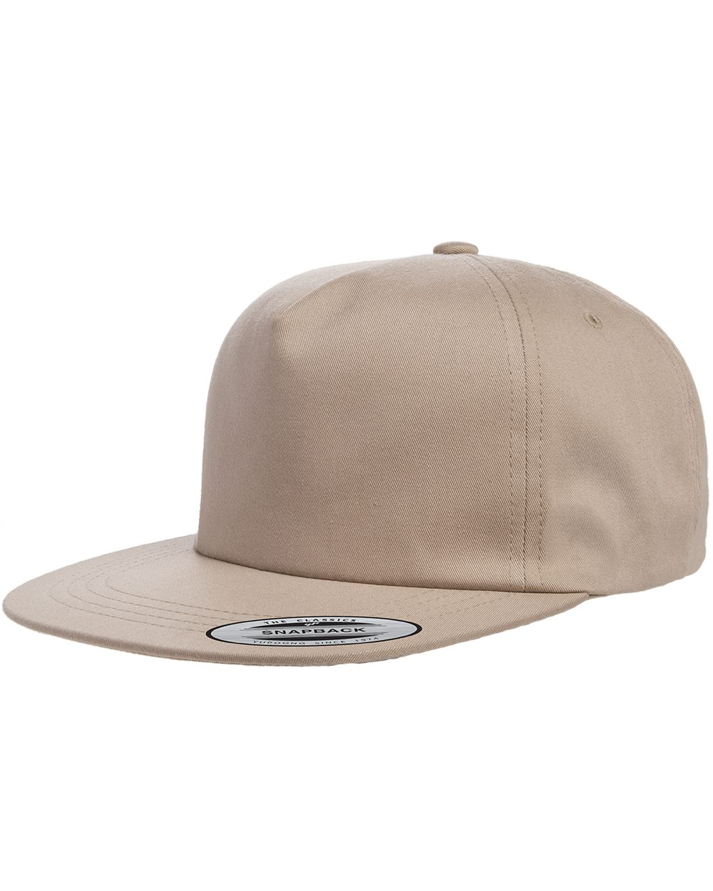Yupoong 6502 - Unstructured Five-Panel Snapback Cap