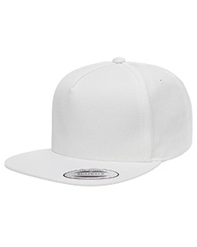 Yupoong Y6007 - Adult 5-Panel Cotton Twill Snapback ...