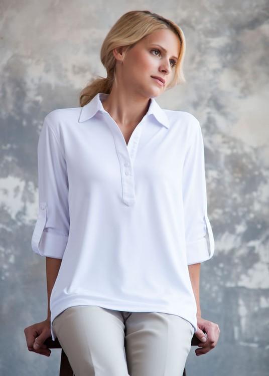Zorrel Z6262 - Women's Oxford Tunic