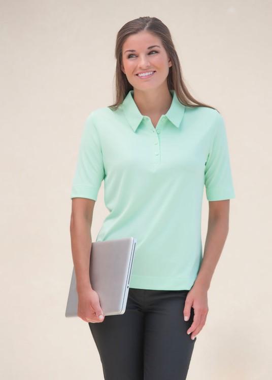 Zorrel Z6522 - Women's Boston Interlock Polo