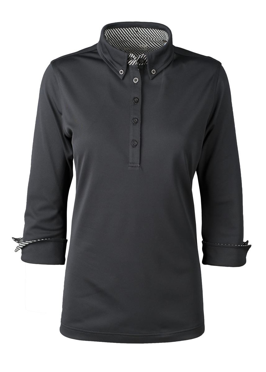 Zorrel Z6726 - Women's Islington Stretch Polo W/ Stripe Accents