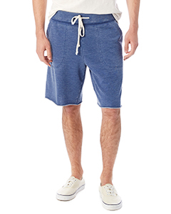 Alternative 05284F - Men's Burnout French Terry Victory Short