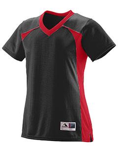 Augusta Sportswear 263 - Girls Polyester Mesh V-Neck Short-Sleeve Jersey