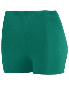 "Augusta Sportswear AG1211 - Girls' Polyester/Spandex 2.5"" Short"