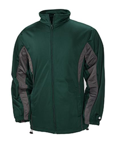 Badger Sport B7703 - Adult Brushed Tricot Drive Jacket