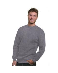 Bayside BA1102 - Adult Crewneck Sweatshirt