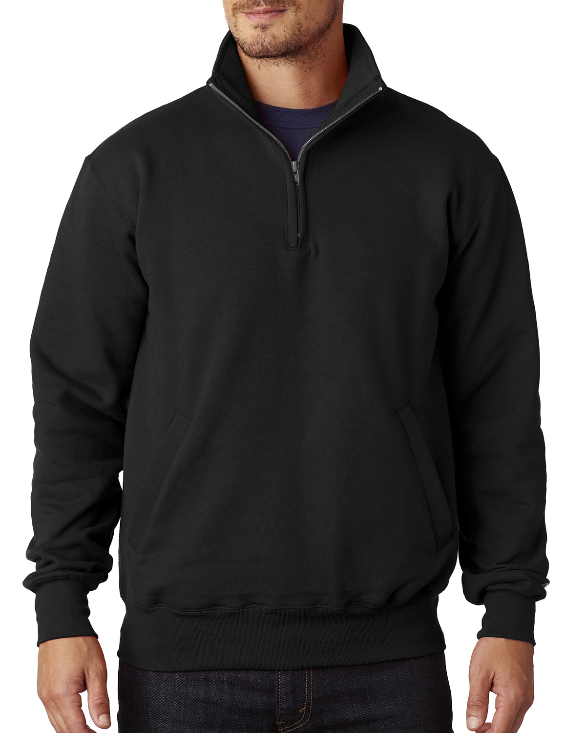 Champion S400 - Adult Double Dry Eco® 1/4-Zip Pullover Fleece