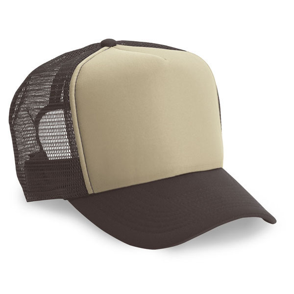 Cobra TRUCK-5 - 5 Panel Trucker Cap Foam/Mesh